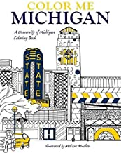 university of michigan coloring book