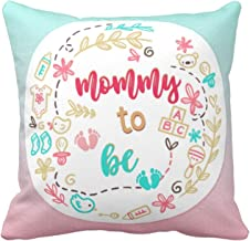 YaYa cafe Canvas Would be New Mom Gifts Cushion Covers (Multicolour, 12X12-inch)