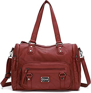 KL928 Handtasche Damen gross Tasche Umhängetasche Schultertasche Damentaschen für Damen Frauentasche PU Leder Damenhandtas...