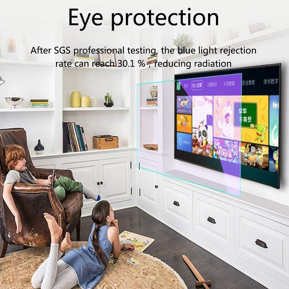 N // A 32-65 Zoll Matte Anti-Glare-TV-Schirm-Schutz//Anti Blaulicht Film Machen 49 Zoll 1075 x 604,65 Inch 1440 x 809 das Licht-weicher f/ür LCD Entlasten /Überanstrengung der Augen LED