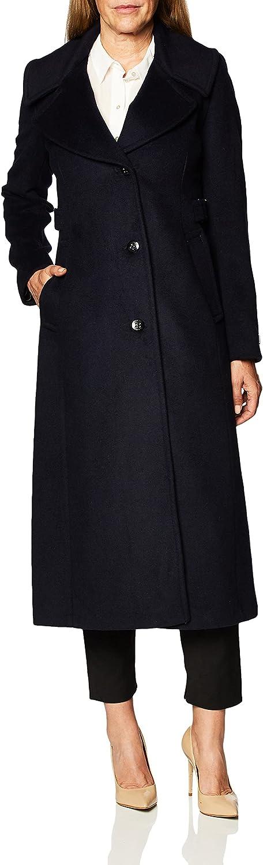 Calvin Klein Women's Fees free Notch 2021 Collar Maxi