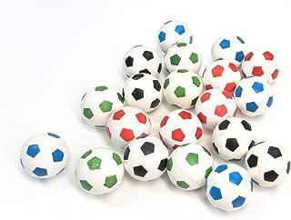 Edison Novelty 20 Soccer Super Bouncy Balls 27mm