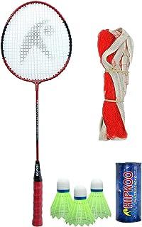 Hipkoo Bullet HR 14 Badminton Combo with Badminton Bag Badminton Kit
