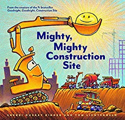 mighty mighty construction site book for young kids