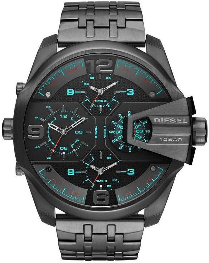Diesel  orologio cronografo  da uomo in acciaio inossidabile DZ7372
