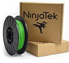 NinjaTek 3DNF06117505 NinjaTek NinjaFlex TPU Filament, 1.75mm, TPE.5kg, Grass (Green) (Pack of 1)