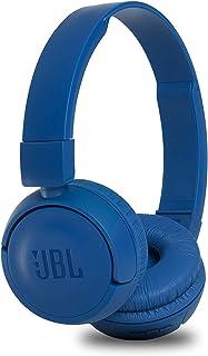 JBL T450BT - Auricularess de Diadema cerrados con Bluetooth 4.0 , inalámbricos, azules