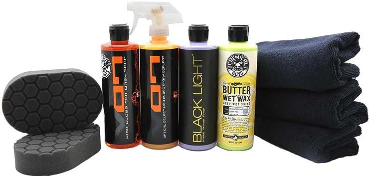Chemical Guys HOL203 Black Car Care Kit, 9 Items: image