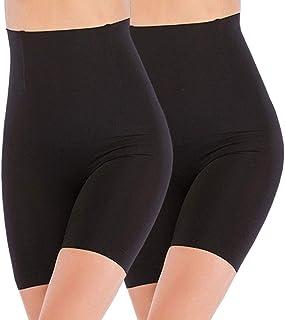 Cintura Alta Faja Tanga Braguitas Body Moldeador Abdomen Invisible Shapewear Faja Reductora Adelgazantes para Mujer