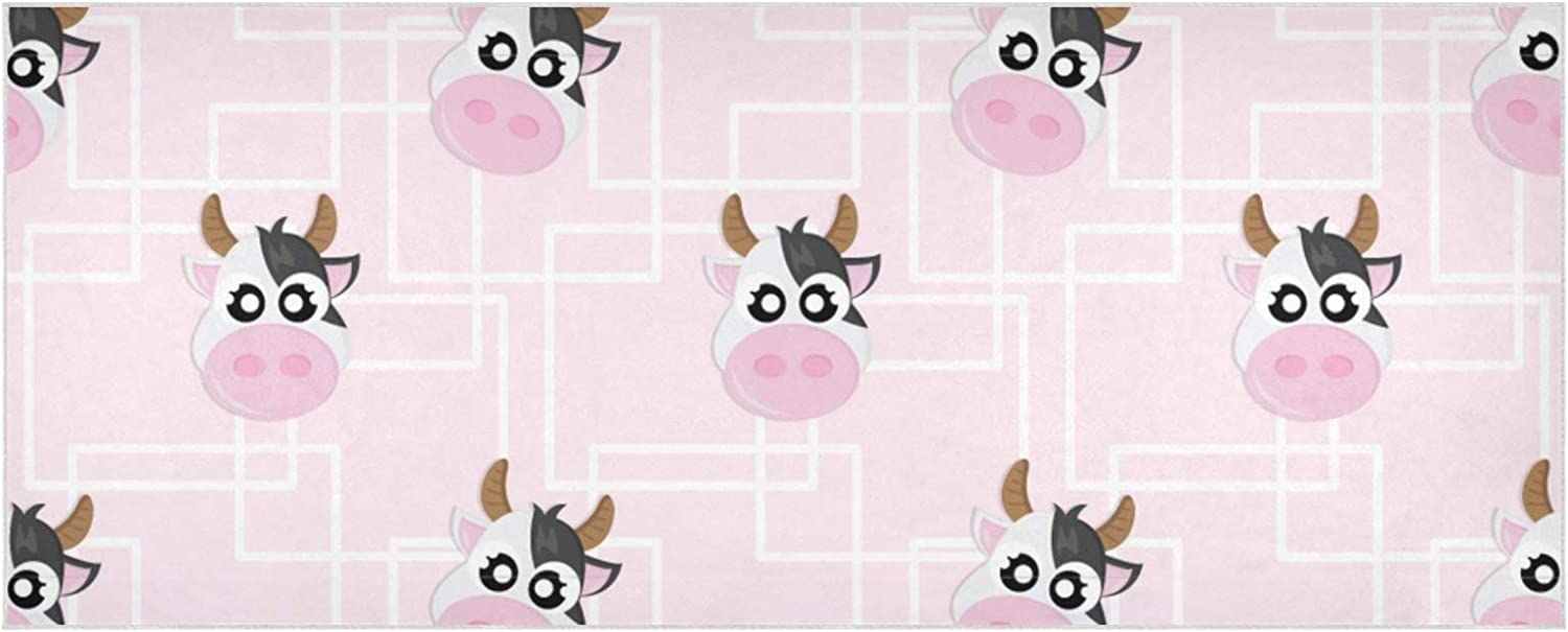 Women's Warm Scarf Cow Pattern Limited Super beauty product restock quality top! time sale Large T Isolated Extra Wallpaper