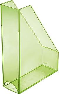 Espositore da parete con 4 scomparti formato A5 verticale colore Helit H6270230 Blu