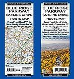Blue Ridge Parkway / Skyline Drive, North Carolina \ Virginia Route Map