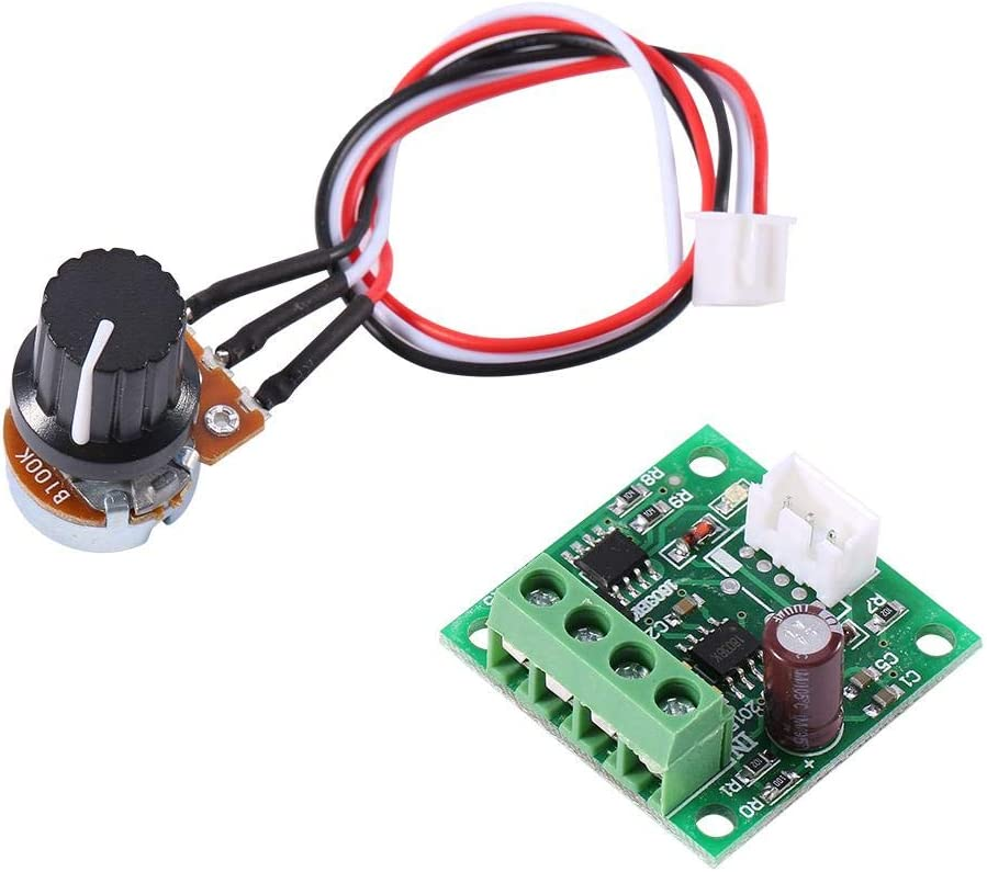 Motor Speed Controller DC 1.8V to 15V Mini New Shipping half Free Voltage Ov 2A PWM Low
