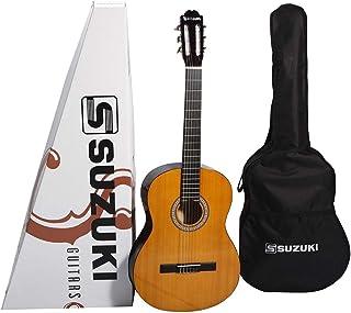 Suzuki SCG-2 3/4 Classic Acoustic Guitar, Wood, Multi Color