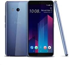 HTC U11 Plus (2Q4D100) 6GB / 128GB 6.0-inches LTE Dual SIM Factory Unlocked - International Stock No Warranty (Amazing Silver)