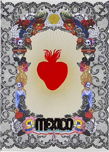 Mexico City A5 Softcover Notebook