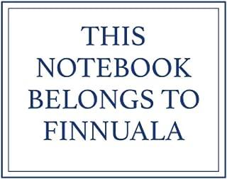 This Notebook Belongs to Finnuala
