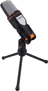 Redlemon Micrófono Condensador para PC y Laptop Semiprofesional con Tripié, Conector Auxiliar 3.5mm, Aislamiento de Ruido....