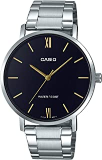 Casio Analog Black Dial Men's Watch-MTP-VT01D-1BUDF (A1612)