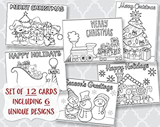 Best color your own holiday cards Reviews