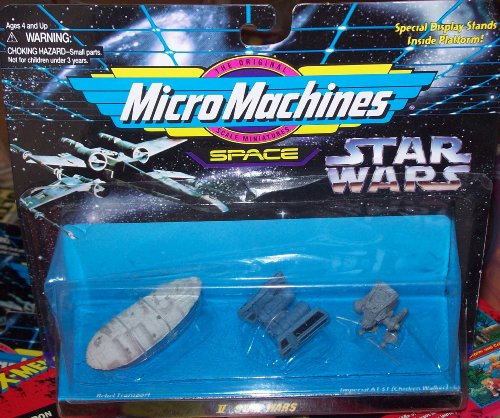 Micro Machines SPACE - Star Wars V by Galoob MicroMachines by Galoob MicroMachines