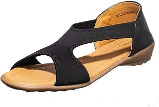 Khadims Women Black Casual Slip-On Sandal