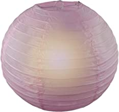 Reiki Crystal Products Lantern Paper Lamp Paper Ball Lamp Shade 12 Inch Paper Lamp for Decoration at Diwali Party Birthday Colors White Pack of 1 pc