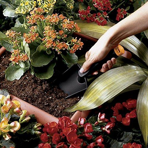 Edward Tools Garden Hand Tools Set Fiber Composite - Garden Trowel, Transplanter and Cultivator - Extra Strength Nylon Fiberglass - Lightweight but Stronger Than Steel - Break-Proof Guarantee