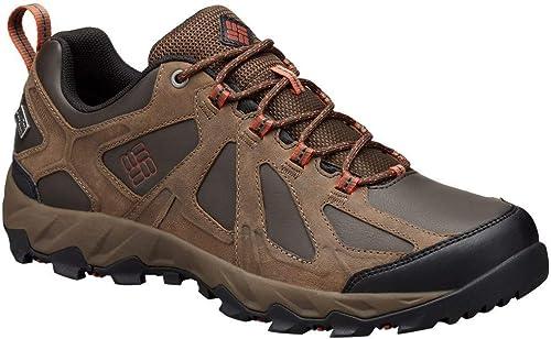 Columbia Peakfreak XCRSN II Low Leather Outdry, Chaussures de Randonnée Basses Homme