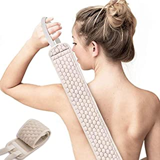 Gepege Exfoliating Back Scrubber for Shower for Men and Women, Loofah Back Washer Deep Clean & Invigorate Your Skin