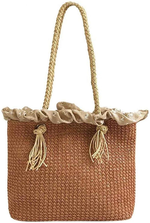 MJFO MJFO MJFO Handtasche Frauen-Dauerhafte Webart-Große Strand-Taschen-Schulterbeutel-Rattan-Stroh-Taschen B07JR8N22S  Vollständige Spezifikation f38128
