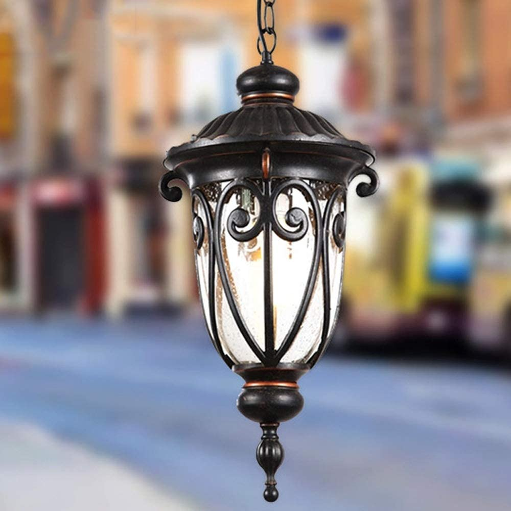 store Modern Hanging Lamp Outdoor IP54 Li Regular discount Garden Chandelier Waterproof