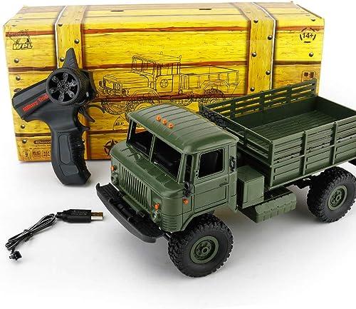 KUVV COOL Military Muse Allradantrieb Offroad-Kletterwagen Modell 1 16 Fernbedienung Auto Kinderspielzeug  handel (Farbe   Grün)