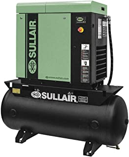 3-Phase 20 HP Rotary Screw Air Compressor with 120 Tank Size