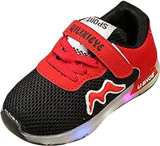 d342e328a4a69 Lacer Appartement Garçons filles Sneaker LED Lumière Up Lumineux Chaussures  Enfant Sport Trainers Fonctionnement De plein