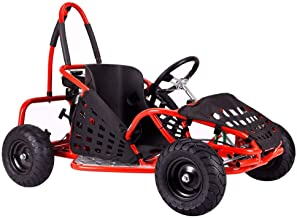 MotoTec 79cc Off Road Go Kart in Red