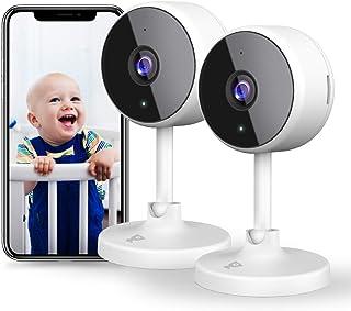 [2021 Neu]Überwachungskamera Wlan Kamera, Littlelf Wlan Überwachungskamera Innen WiFi..