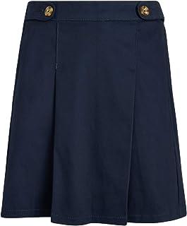 CHEROKEE Girls' School Uniform - Stretch Cotton Pleated Scooter Skirt