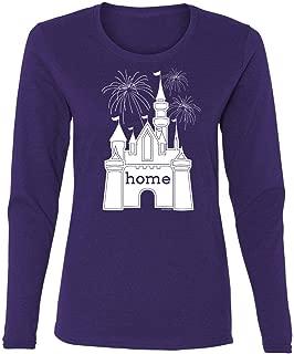 DisGear Women's Castle is My Home Fireworks Long Sleeve T-Shirt