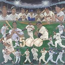 500 Home Run Club Lithograph