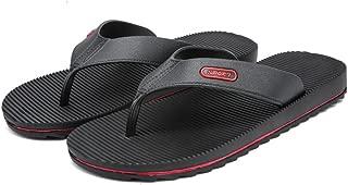 Fashion Men's Flip-flops Casual Wind New Stripes Anti-skid Wear-resistant Outdoor Beach Sandals DIE