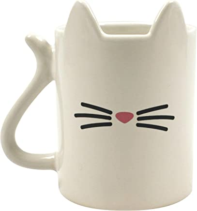 Preisvergleich für Unbekannt Gift Republic Tierischer Katzen Kaffeebecher, Keramik, Multi 11x9x9 cm 2