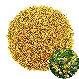TooGet Parfumée Osmanthus Fragrans Herbe Feuilles de Thé en Vrac 100% de Fleurs Séchées Osmanthus Naturel Tisane de Qualité Supérieure - 60g