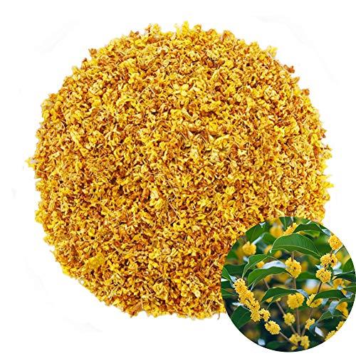 TooGet Fragrant Osmanthus Fragrans Herb Loose Leaf Tea 100% Natural Dried Osmanthus Flower Herbal Tea Top Grade - 4 OZ