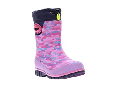Western Chief Kids Crystalize Winterprene Tall Boot (Toddler/Little Kid/Big Kid) (Pink) Girls Shoes