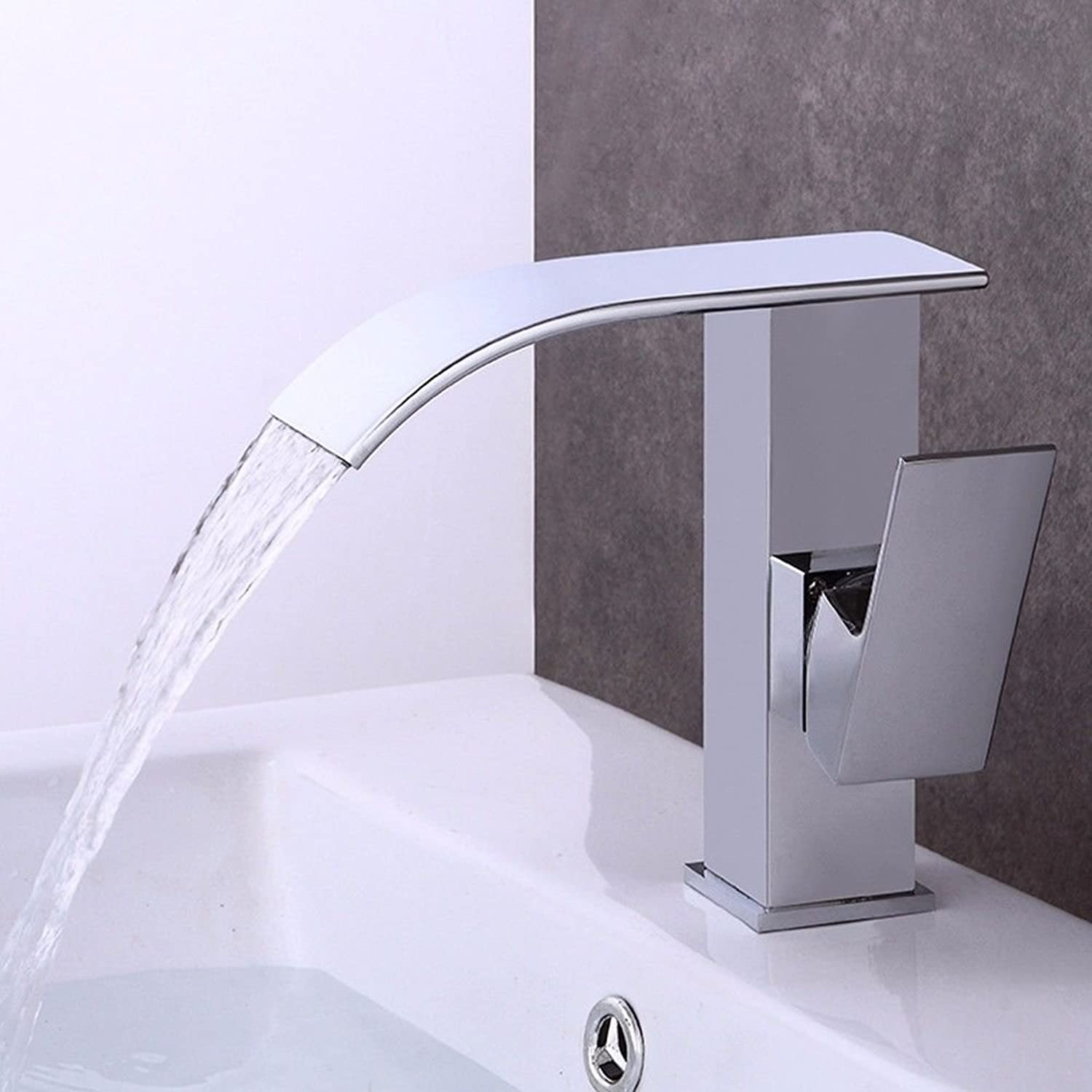 NewBorn Faucet Water Taps Hot And Cold Water The Plating Until Hot And Cold Basin Wash Bathroom Cabinet