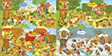 Poster 100 x 50 cm: Jahreszeiten im Garten von Marion