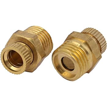 3//8 ExcLent Pt 1//2 3//8 1//4 Zoll Messing Ablassventil Luftkompressor Male Gewinde Wasserablassventil