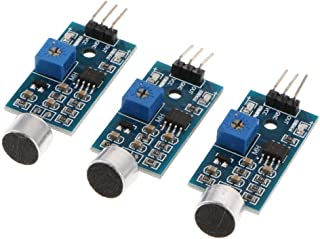 KESOTO サウンド検出モジュール 3個入り 音声センサー 高感度 Arduino対応
