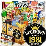 Legenden 1981 / 24er DDR Geschenk / Legenden 1981
